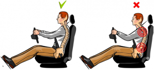 posture-while-driving